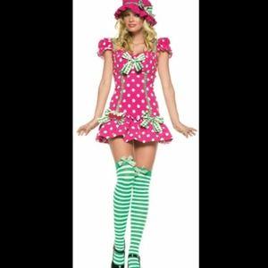 MARISA: Raspberry tart girls costume