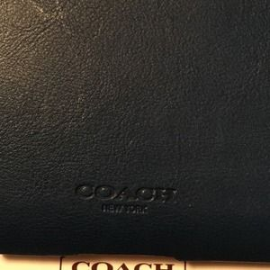 11f250bb68 Coach Accessories - NWT Coach molded leather Bleeker Vin Roy