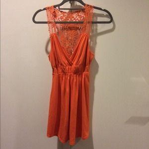 Dresses & Skirts - Orange Soft Summer Dress