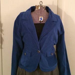 💄REDUCED 💄 NEW imperial Blue Blazer