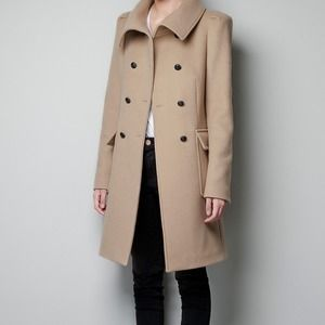 💕Host pick💕Camel wool coat