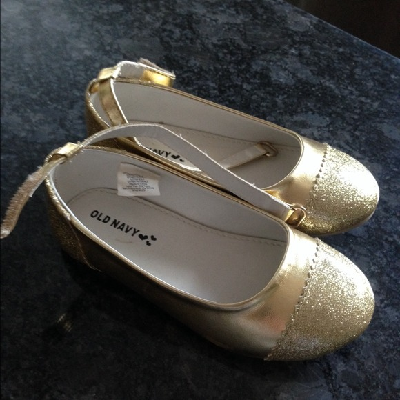 56% off Old Navy Other - Gold toddler shoe size 8 from Angelica's ...