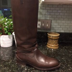 Frye Boots (Chocolate Brown)