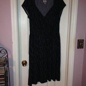 Worthington pretty polka-dotted dress.