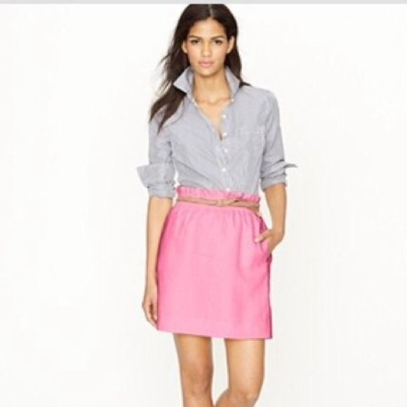 67% off J. Crew Dresses & Skirts - J.Crew city mini skirt / size 2 ...