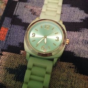 Anthropologie Mint Green Watch