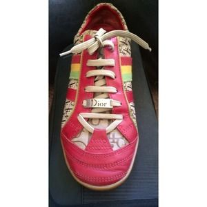 Christian Dior Rasta Sneakers Authentic! Like NEW!