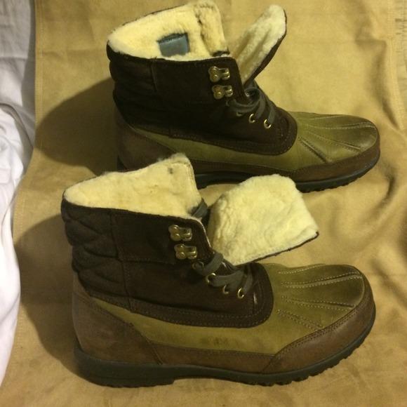 Mens Cole Haan Waterproof Winter Boots