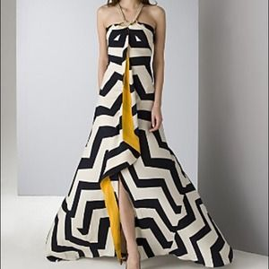 Diane von Furstenberg striped maxi dress