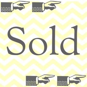 👉SOLD👉👉