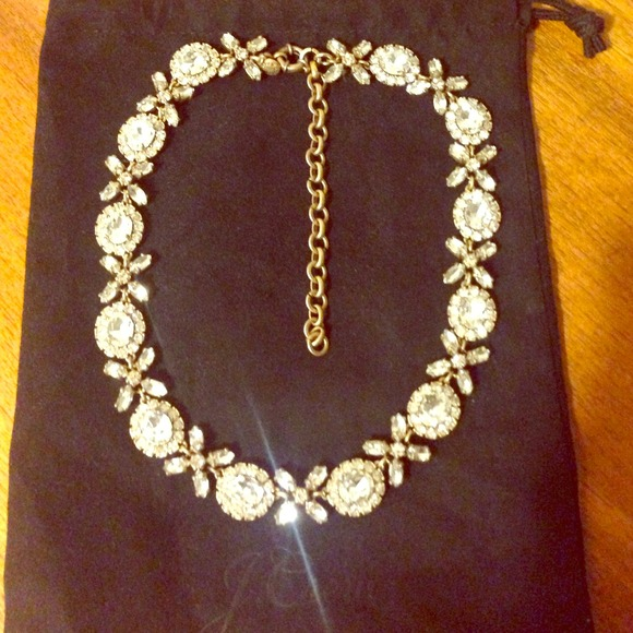 HP🎉💃JCrew crystal necklace