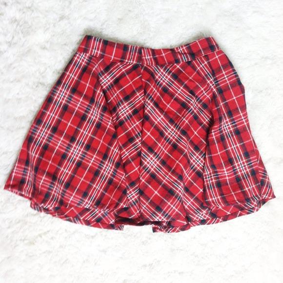 b220ee97a60daf Skirts | Forever 21 Plaid Skater Skirt | Poshmark
