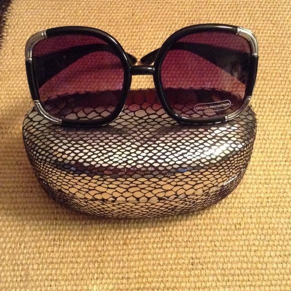 20 off other designer joan boyce sunglasses from pamela s closet on