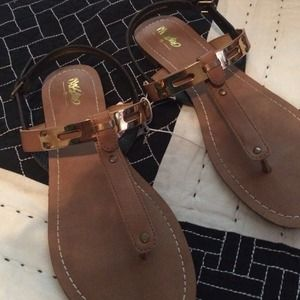 1fba37bd8e7d7 Mossimo Supply Co. Shoes - mossimo avery cognac color flat sandals