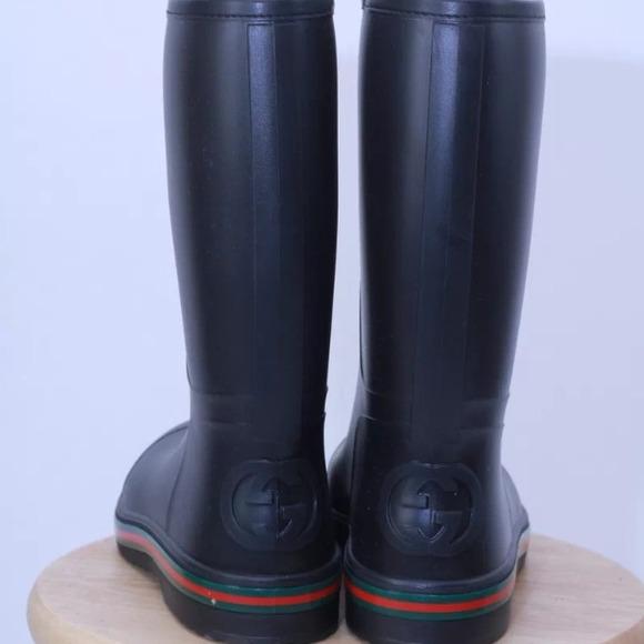 9520c384773 Gucci rain boots - men s size 10gu