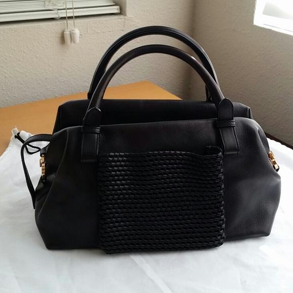Ferragamo Handbags - Salvatore Ferragamo Little Black Bag 9e8674884cd3b