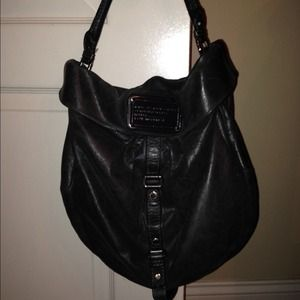 MARC BY MARC JACOBS Classic Q Hillier Hobo Black