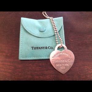 Tiffany & Co. Extra Large Return to Tiffany Tag