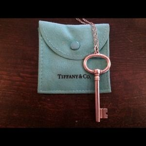 Tiffany & Co. Extra Large Oval Key