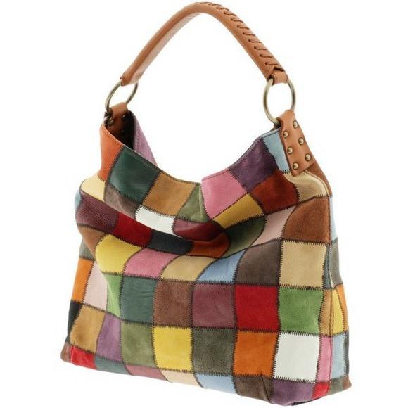 Attractive Lucky Brand Bags   Patchwork Handbag   Poshmark QL65 3e41636df6