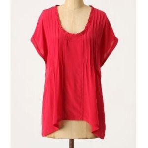 Anthropologie silk top
