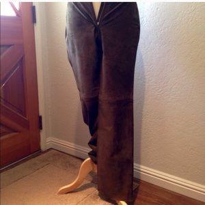INC International Concepts Pants - INC Brown Suede Pants