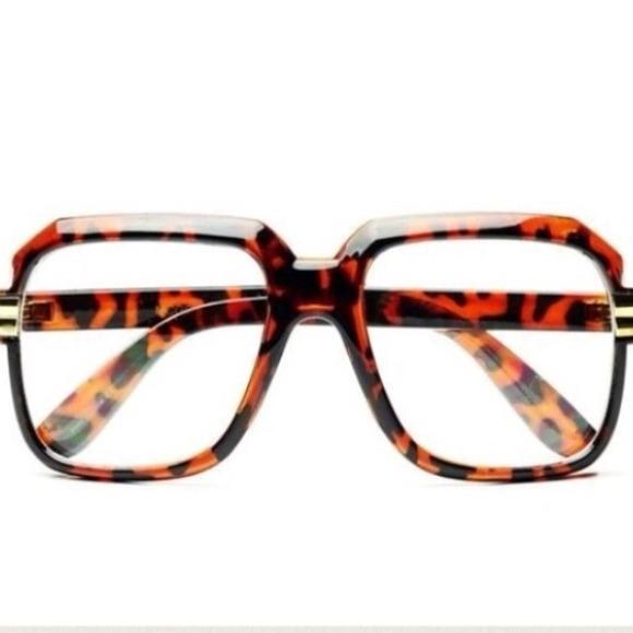 e96f72c2cc1 Gazelle Tortoise   Gold Clear Glasses