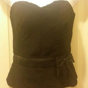 New black H&M top size 6