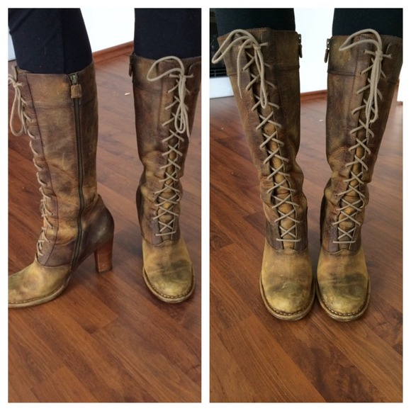 Frye Shoes   Frye Villager Lace Up Boot