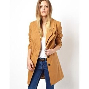 ASOS Jackets & Blazers - [ASOS]coat with double collar
