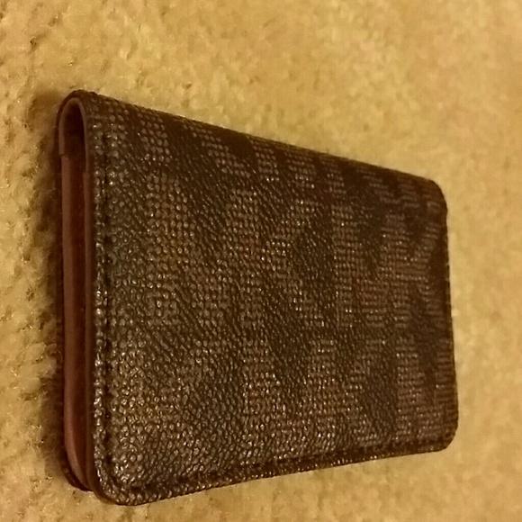 Michael kors bags 100 authentic business card holder poshmark 100 authentic michael kors business card holder colourmoves