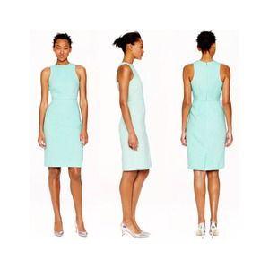 J.Crew Seafoam Sheath Dress