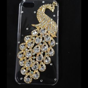 Accessories - Bling peacock iphone 5/5s case