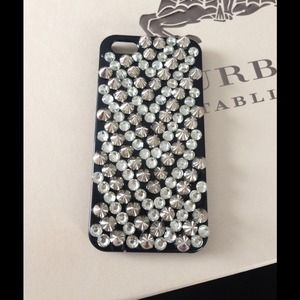 Accessories - iPhone 5/5s spike and diamond case
