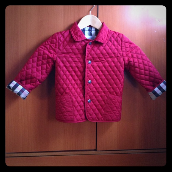 73% off Burberry Other - 2 Day Sale Burberry Kids Quilted ... : burberry kids quilted jacket - Adamdwight.com