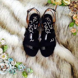 Kelsi Dagger Flat Sandals