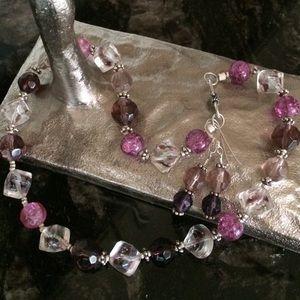 Ryan's Corner Jewelry - 💥FIRM💥Gemstone Necklace & Earrings