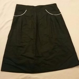 THEORY Black Skirt
