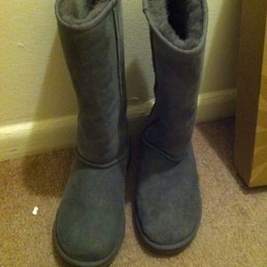 Ugg classic tall grey boots