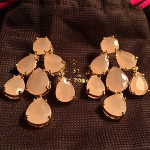 Brand new Kate Spade chandelier earrings