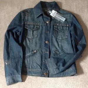 ⭐️SALE⭐️NWOT Denim Jacket