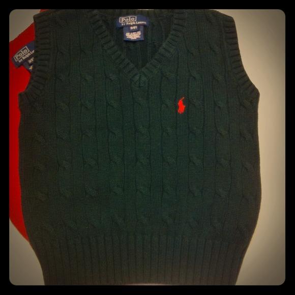 78% off Ralph Lauren Other - Ralph Lauren Boys 3T Dark Green ...