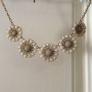 Floral statement necklace