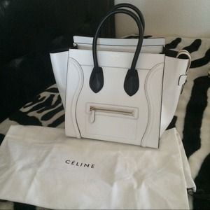 celine online shop usa - celine mini luggage tote on Poshmark
