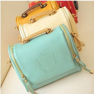 Mint Satchel Top Handle bag