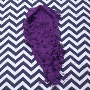 Accessories - Purple Star Scarf