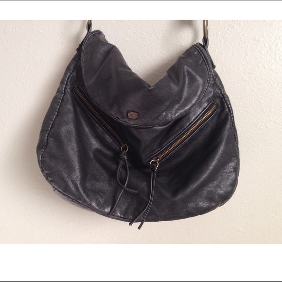 64% off O'Neill Handbags - ⚡️Sale⚡️Black Slouchy Crossbody Bag ...