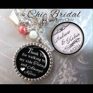 Bridesmaid or maid of honor personalized wedding