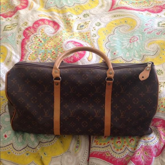 Bags   Louis Vuitton Replica Duffle Bag   Poshmark b022b56300