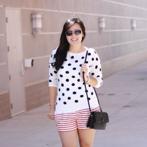 Old navy polkadot sweater